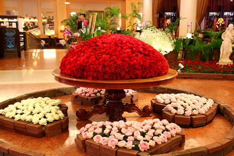 バラ祭_ホテルヨーロッパ