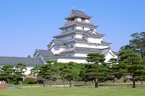 福島県_鶴ヶ城(イメージ)