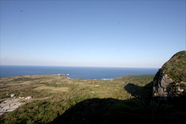 「美ら海展望台」からの眺め。気持ちいい!