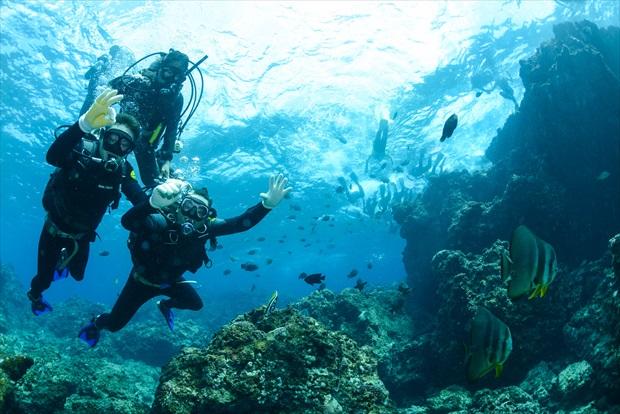 沖縄の冬の海って、遊べるの?