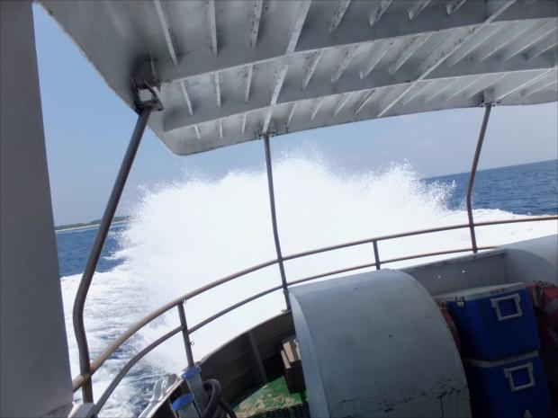 波照間島へアクセスする高速船