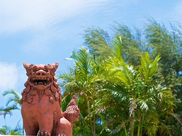 子連れでもやっぱり!青い空が似合う沖縄