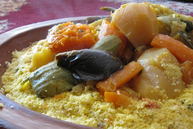 モロッコの家庭料理、クスクス