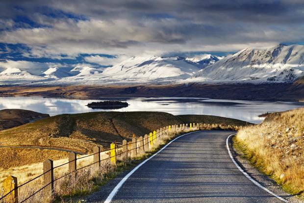 ニュージーランド、サザンアルプス