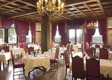 シュロスホテル シュタインブルクのレストラン