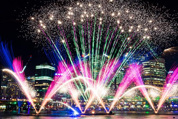 シドニーハーバーの花火