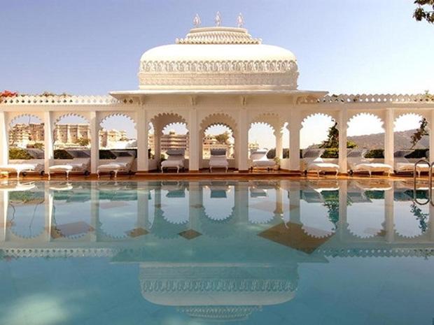 Taj Lake Palace Udaipur (タージ レイクパレス ウダイプール)外観