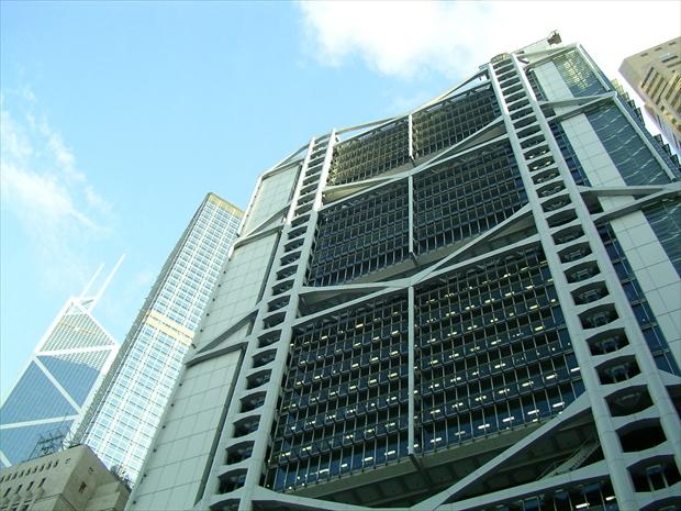香港上海銀行(HSBC)の本社ビル