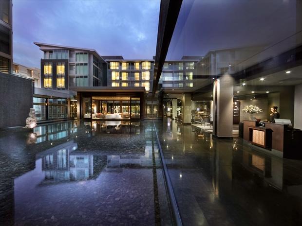 オークランドの高級ホテル「ソフィテルオークランド ヴァイアダクトハーバー」