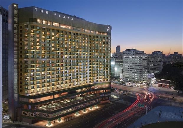 韓国ドラマのロケ地となったソウルのホテル
