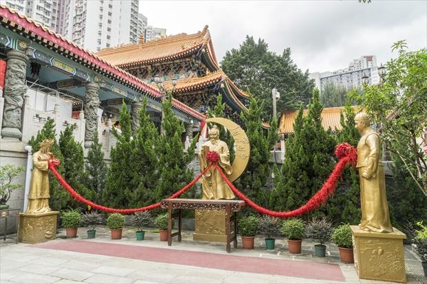香港の月下老人(ユエシャーラオレン)