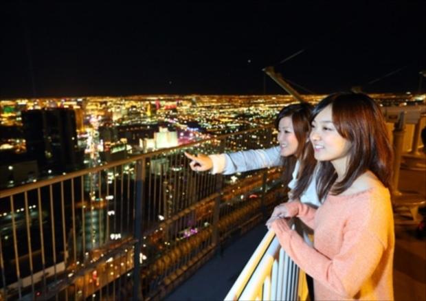 ラスベガスの夜景は魅力的! でも防犯対策はしっかりと