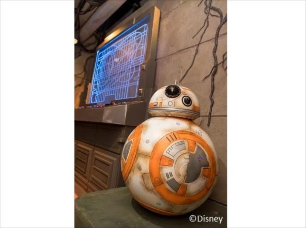 スター・ウォーズの人気キャラ、BB-8