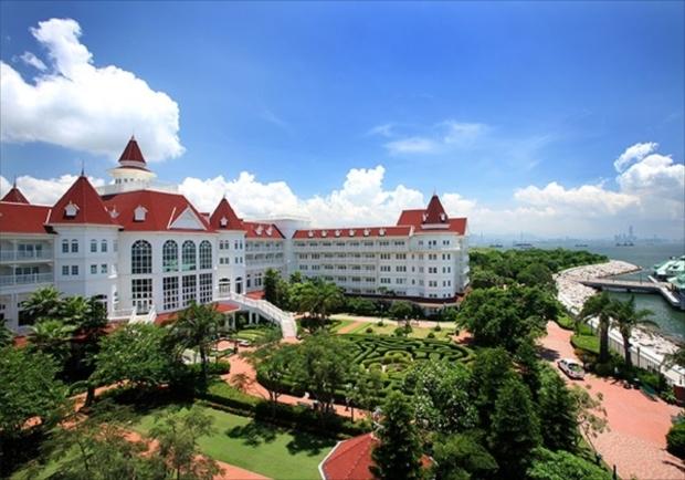 ビクトリア朝の雰囲気を楽しみたい方は香港ディズニーランドホテル