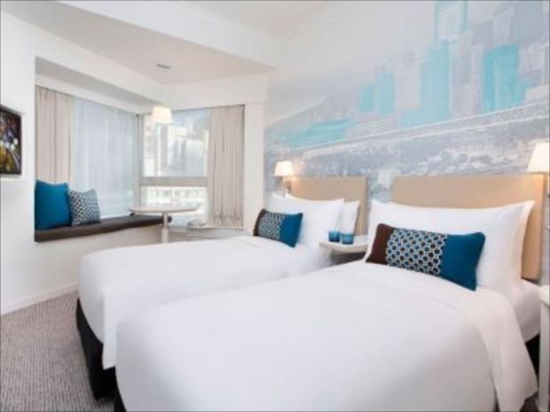 シンプルなインテリアとふんわりベッドが大好評なOZO ウェスリーホテル
