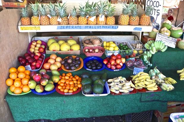 南国フルーツも種類が豊富なハワイ