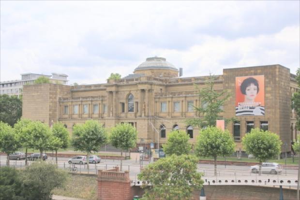 ムゼウムズーファーの中心的存在なシュテーデル美術館(写真提供:浅井みらのさん)