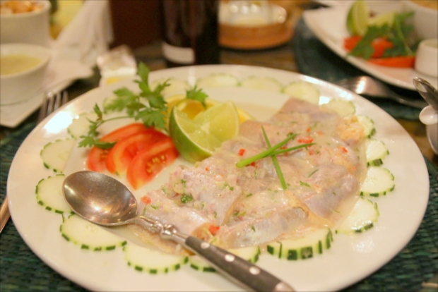素材本来の味を生かしたペルー料理、セビーチェ。白ワインともよく合う(写真提供:浅井みらのさん)