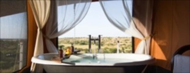 浴室含むどの部屋からも景色が堪能できるデザイン