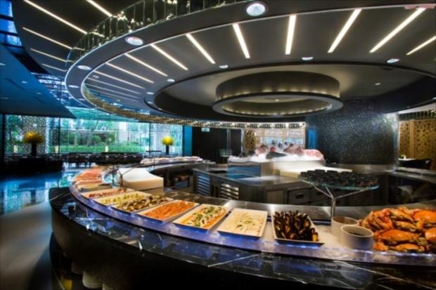 リージェント台北内のレストランは朝食ブュッフェが人気!