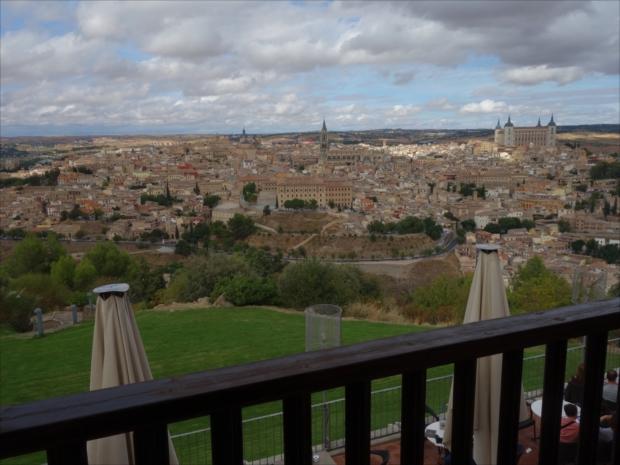 パラドール・デ・トレドからの眺望はため息が出るばかり(写真提供/タケムラユウカ)