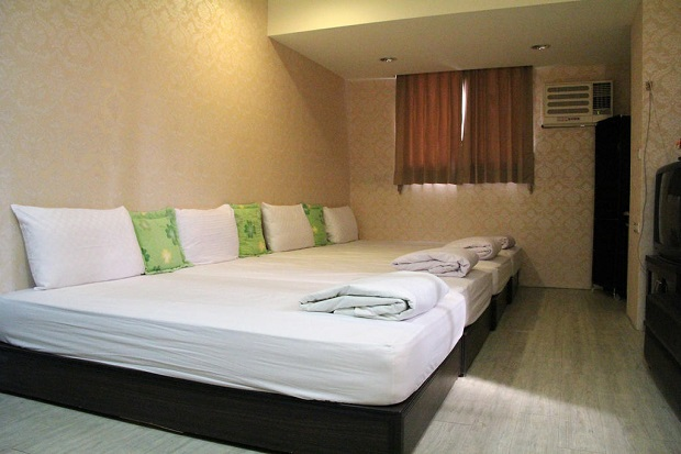 「Easy Stay Ximen Guest House」大人数でも宿泊できる個室がたくさん