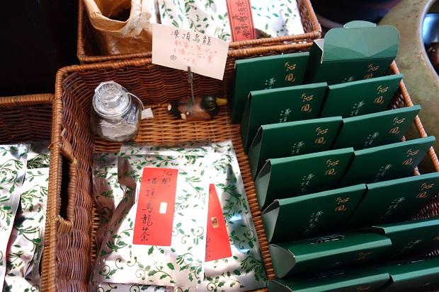 台北の人気のお茶屋さん「沁園」。パッケージも素敵でした。(写真提供:本田マイコさん)