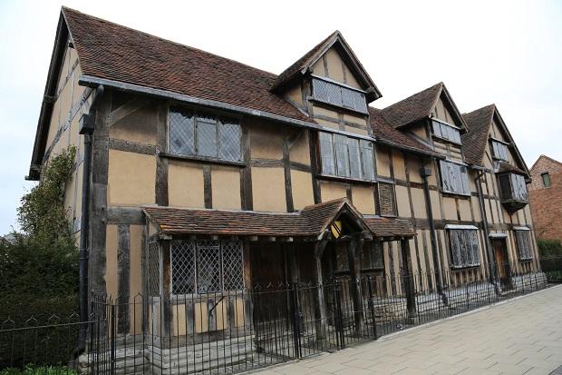 450年前のシェイクスピアの生家が現在も保存されている。ストラットフォード・アポン・エイヴォンを訪れたなら必見!