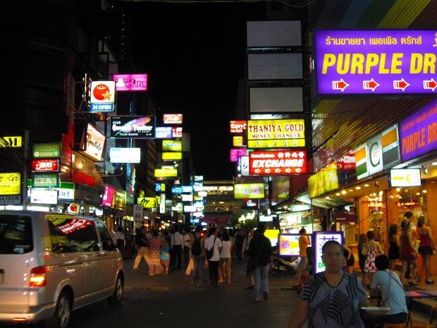 バンコクの夜はどこを切り取っても刺激的!