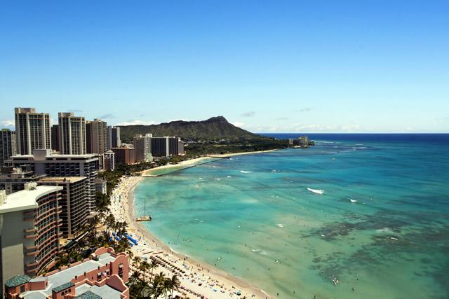 楽園ハワイ