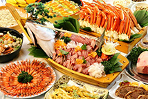 北陸旬の味覚食べ放題(イメージ)