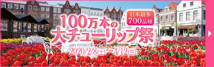 100万本の大チューリップ祭