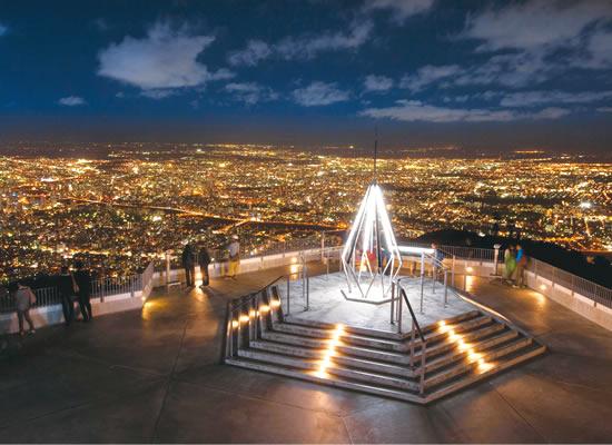<おすすめ観光>札幌もいわ山からの夜景(イメージ)