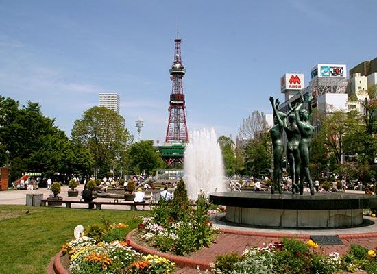 札幌大通公園(イメージ)