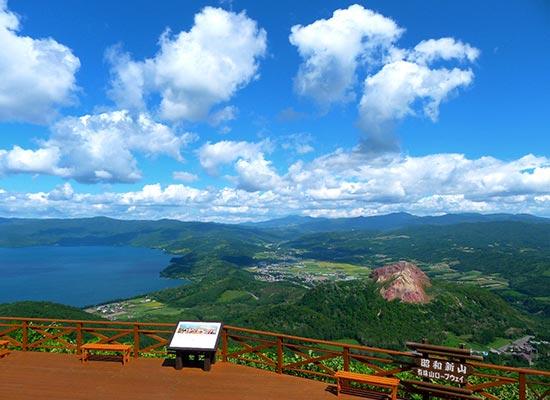 有珠山(イメージ)