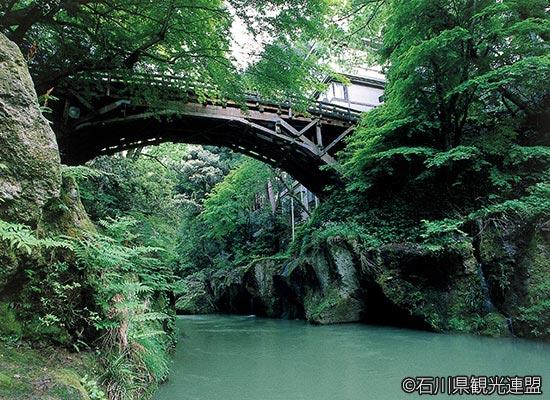 山中温泉 こおろぎ橋(イメージ)