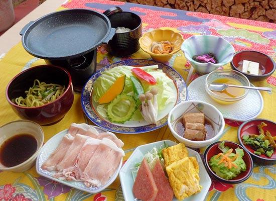 琉香豚の陶板焼き御膳/イメージ
