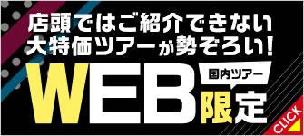 WEB限定ツアー特集