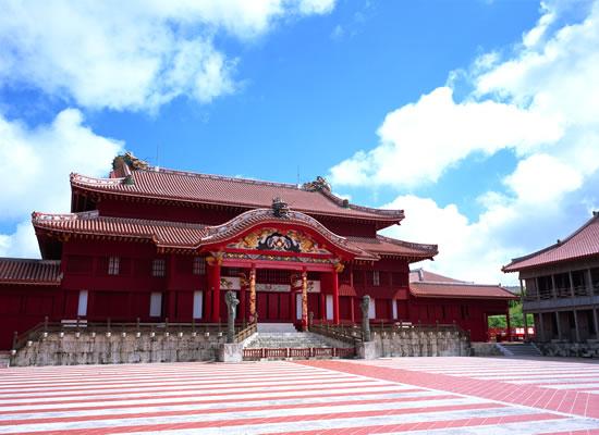 沖縄_首里城