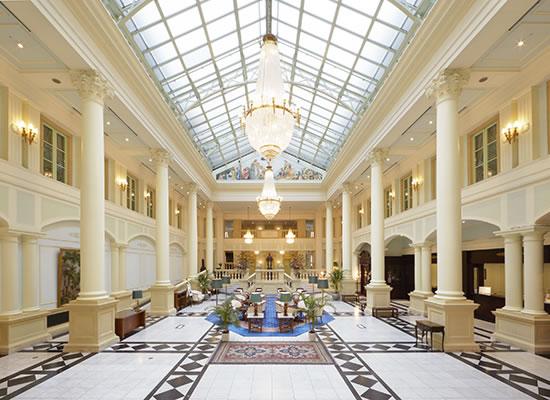 ホテルアムステルダム_ロビー