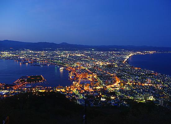 函館山夜景/夏頃 (イメージ)