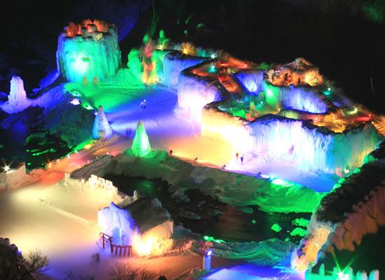 層雲峡温泉氷瀑まつり/イメージ