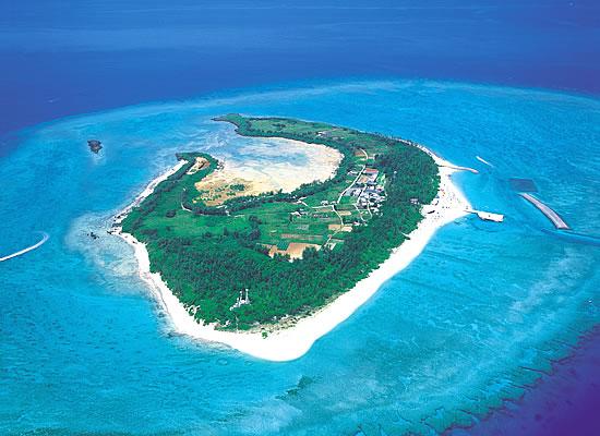 水納島(イメージ)