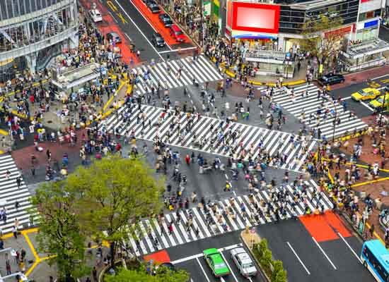 渋谷_スクランブル交差点(イメージ)