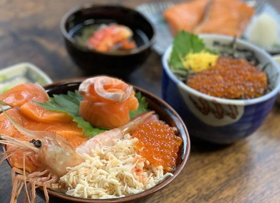 北のグルメ亭 海鮮丼(イメージ)