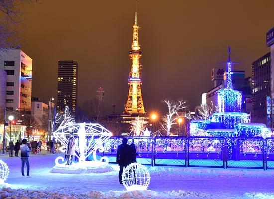 さっぽろテレビ塔(冬)