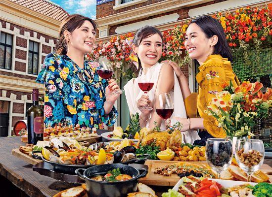 花の街の大収穫祭(イメージ)