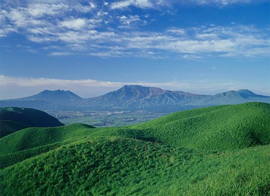 熊本県/阿蘇山(イメージ)