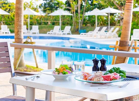 サザンビーチホテル&リゾート沖縄_LeaLeaプールサイドBBQ(イメージ)
