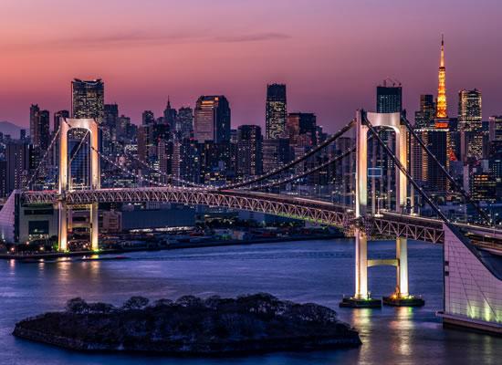 東京都/レインボーブリッジ(イメージ)